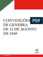 As Convenções de Genebra de 12 de agosto de 1949