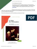 Adorno, l'écriture, la fragmentation et la dissonance du monde - Fragments (Sébastien Rongier)