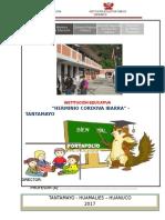 Estructura de Portafolio i.e