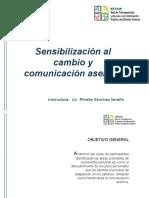 Final Sensibilizacion Al Cambio y Comunicacion Asertiva