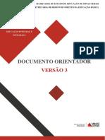 Documento Orientador - II Educação Integral-2017