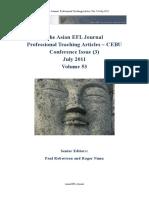 Asian EFL Journal July 2011