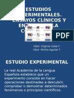Estudios Experimentales (1)