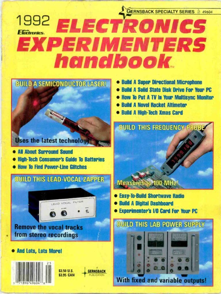 electronics experimenters handbook 1992 videocassette recorder rh scribd com