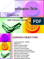 Communications Skills Jfl