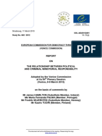Raportul Comisiei de La Venetia