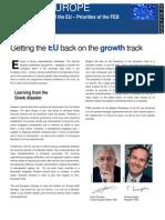 Belgian Presidency of the EU – Priorities of the FEB