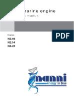 Nanni Diesel Manual N2.10-N2.14-N3.21 ENG - 970316081