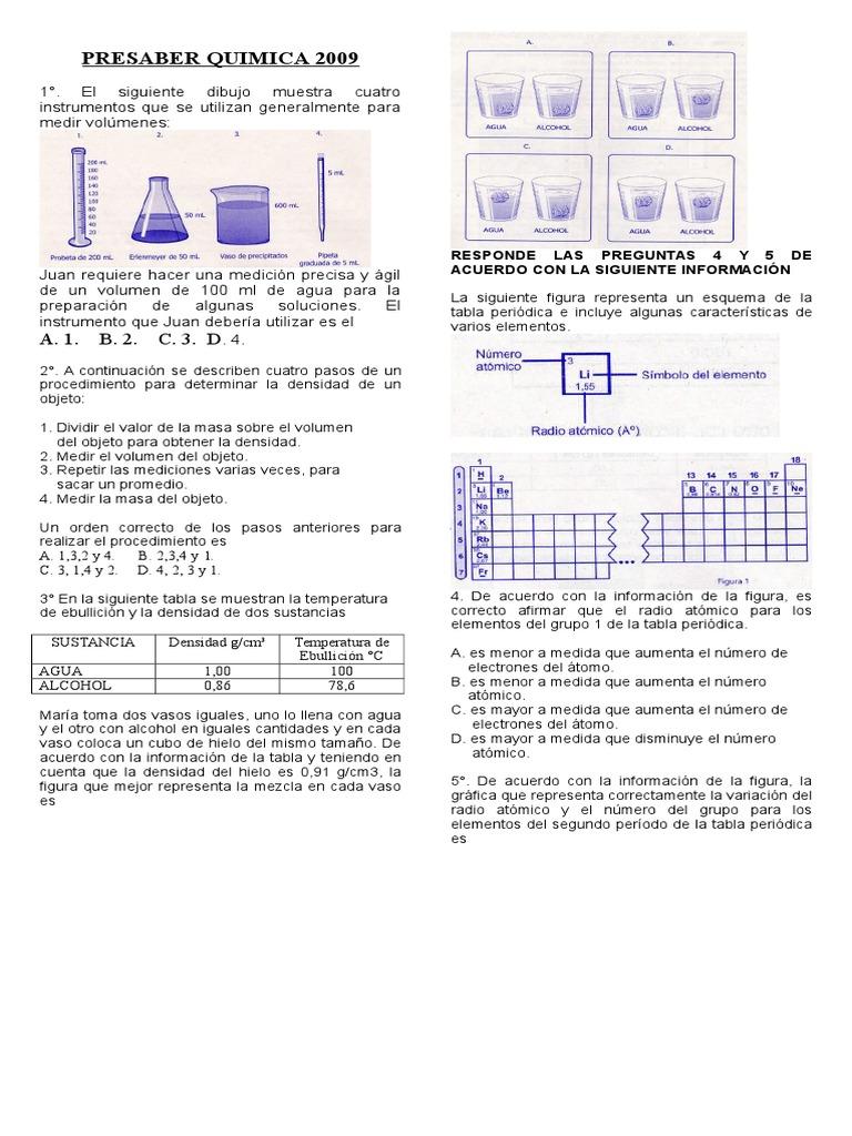Tabla periodica elemento de mayor densidad image collections 18829515 presaber quimica 2009 flavorsomefo image collections urtaz Choice Image