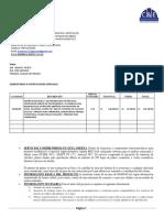 Cotizacion Proyecto 80000m2 Diseño Mixto (Civil-electromecánica)