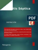 artritis septica infantil