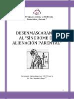 DESENMASCARANDO Al Sindrome de Alienacion Parental