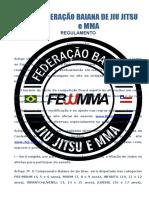 Fbjjmma 2017 Regulamento Competicao