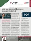 Voor een coherent Europees grondstoffenbeleid, Infor VBO 26, 15 juli 2010