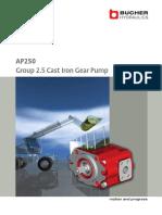 Cast Iron Gear Pumps AP250_200 P 991629 E 00_Flyer