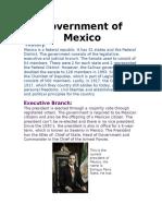 government in mexico