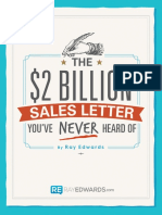 The 2 Billion Sales Letter