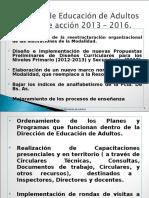 Lineas de Accion 2013 2016