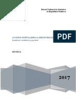 Raport Accesul Servicii Sanatate 2016