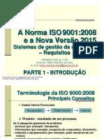 ISO_9000_2008 e 2015_REV_0 Estrato Do Curso Milton