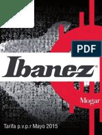 Catalogo Ibanez Es 2015