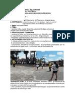 Diario de Campo Uno Universidad Pontificia Bolivariana1