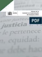 Modernizacion Del Lenguaje Juridico