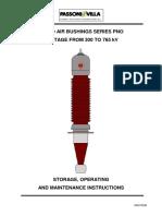 Hv Bushing Pno 300-765kv Manual Is2470gb-e