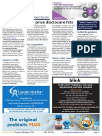 Pharmacy Daily for Tue 28 Mar 2017 - Apr price disclosure hits, Hospital pharmacists have true GRIT, PPI claims next week, Guild Update and much more