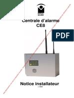 Matelec Securite Centrale Ce8 Notice Installation