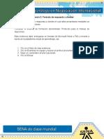 Evidencia 2 ACT 15 Formato de Respuesta a Clientes