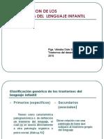 clasificación trastornos lgje