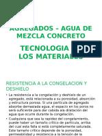Agregados Agua Concreto Adobe