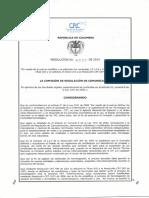 Resolucion CRC 4507 de 2014