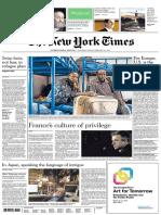 The New York Times 4-5 Febrero 2017