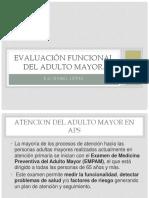 Evaluación Funcional Del Adulto Mayor Clase 10