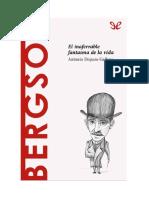 Dopazo Gallego Antonio - Descubrir La Filosofia 34 - Bergson - El Inaferrable Fantasma de La Vida