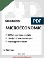 TD Micro-conomie, Pierre Médan