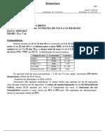 Exemplo de Polissonografia