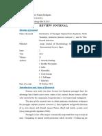 Ayu Puspita Budiputri 4133341012 Tugas Individu Review Journal