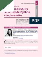 Paramiko - Conexiones SSH y SFTP
