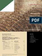 Stravinsky Oedipus Rex, Apollon musagète - LSO, Gardiner