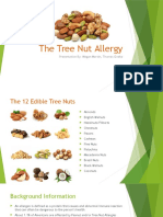 the tree nut allergy