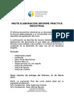 Pauta Elaboracion Informe Practica Industrial v1