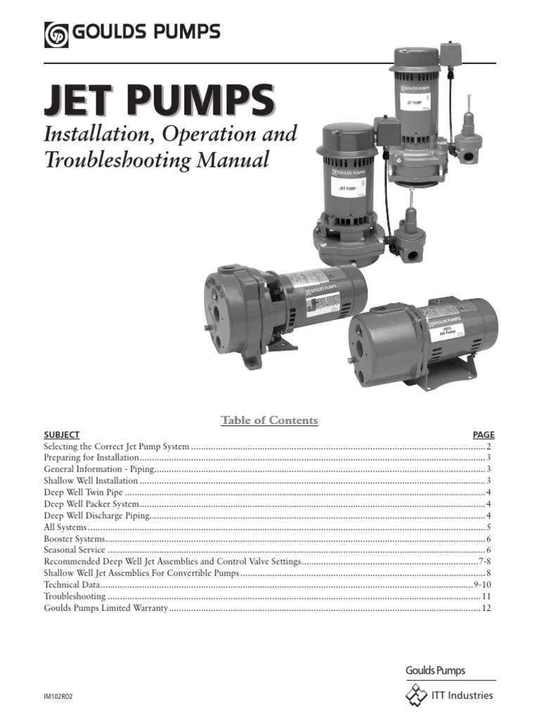 Jet Pump- Installation & Operation Manual.pdf | Pump | Pipe (Fluid on goulds centrifugal pump diagram, goulds booster pump diagram, franklin submersible pump diagram, well pump diagram, submersible water pump diagram, goulds pump parts diagram, submersible sump pump diagram, electric submersible pump diagram,