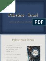 palestine israel