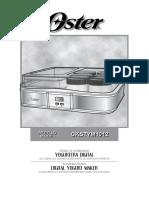 IB Digital Yogurt Maker CKSTYM1012 NoPort