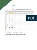 Como Crear Un Gráfico de Termómetro en Excel(1)