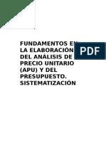 III Fundamentos Analisis de Precio