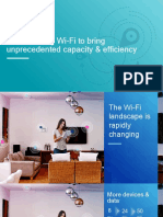 802 11ax Transforming Wi Fi to Bring Unprecedented Capacity Efficiency